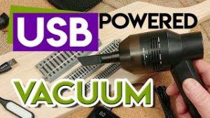 USB Powered Vacuum For Model Trains