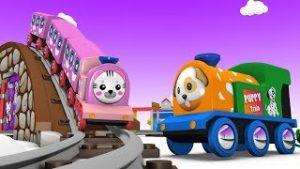 Toy Factory Trains – Cartoon Train – Car Cartoon – Toy Trains for Children – Jcb Cartoon – Trains