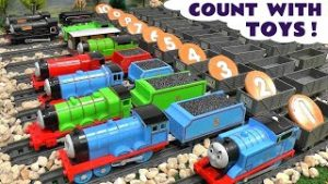 Thomas and Friends 123 Toy Trains Counting