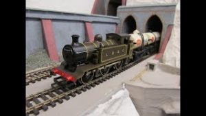Buckland Junction Loft Model Railway 114. Compilation 3. Some gunging scenery. Run session with Mark