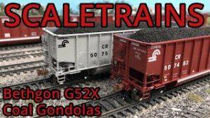 Review: ScaleTrains Bethgon G52X Coal Gondola [HO Scale]