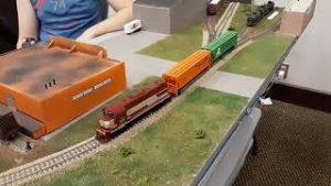 O. M. R. A. Model Train Show 2021 in Springfield, MO.