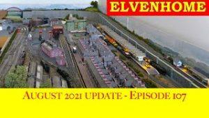 N Gauge Model Railway Layout – August 2021 Update EP107