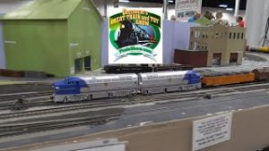 Model Trains at the 2021 Greenberg Train Show in Oaks PA