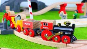 Brio trains for kids: wooden locomotives, steam train, trucks, cars, brio train railway