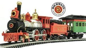 Vintage Bachmann HO-Scale Village Express Electric Model Train Set Unboxing & Review