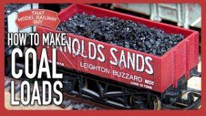 How To Make Coal Loads – Model Railway Tutorial
