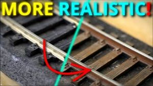 How To Paint And Weather Model Railroad Track – for beginners Part6