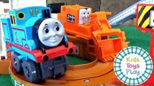 Thomas and Friends TOMY Toy Train Set from Japan | Thomas Train Video for Kids