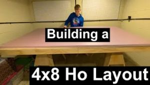 Building a 4×8 HO Layout Pt.1
