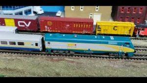 MODEL TRAINS My Top 10 Favorite N Scale Engines  No 2 Kato GE P42DC Via Rail