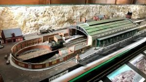 Ramsgate Harbour Station model railway layout