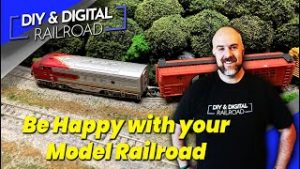 Be Happy with Your Model Railroad: Coffee and Trains Episode 35