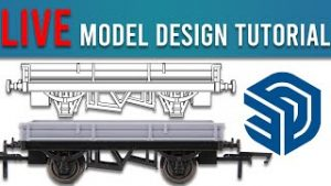 Design Your Own Model Railway Wagons   Easy SketchUp CAD Tutorial