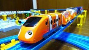 Disney Plarail & Cancan Railroad crossing set (TakaraTomy)