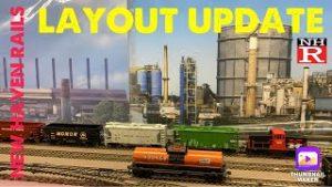 Model Railroad Layout Design Update