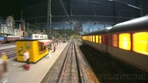 Rail Transport Modeling: Cab Ride with Märklin Model Trains on Model Railways in HO Scale
