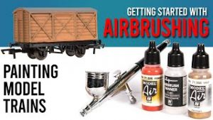 Getting Started Painting Model Trains   I Got An Airbrush!