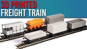 Sam's 100% 3D-Printed Model Railway Freight Train!