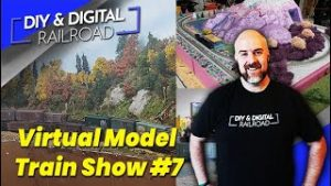 Virtual Model Railroad Show #7: Coffee and Trains Episode 34