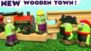 NEW Funlings Build The Le Toy Van Wooden Royal Express Toy Train Set