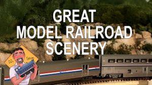 How To Make Great Model Railroad Scenery (Rocky Hillside)