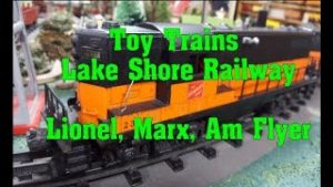 World of Toy Trains, Lionel, Marx, Am Flyer Lake Shore Railway No 59