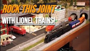 ROCK This Joint With Postwar LIONEL Trains! O Gauge Model Train Music Video!