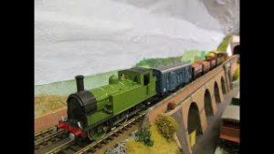 Buckland Junction Loft Model Railway. 122 LNER to Southern Region. An 060 tank locomotive now in SR