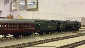 TTS sound Oliver Cromwell Running session at Shoeburyness Model Railway Club
