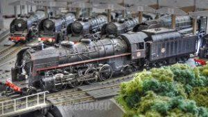 Model railroading in France: HO scale model train layout by Alexandre Forquet