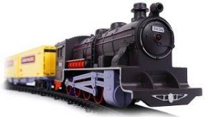 Retro Train Set Realistic Model Train
