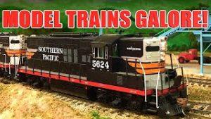 Model Trains Galore! Railfanning DCC Model Trains on  Model Railroad Layouts