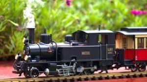 Big Model Trains Running On My Patio