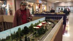 Barron County Model Railroad show Rice Lake Wisconsin 2021, running my trains
