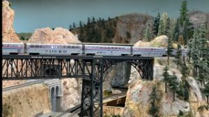 NON STOP HO Scale Model Trains: Highland Pacific Railroad [4K]