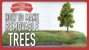 How To Make Removable Trees – Model Railway Tutorial