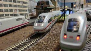 Model trains H0 – Piko ICE4 with interior lighting and passengers – Roco Fleischmann Trix Marklin