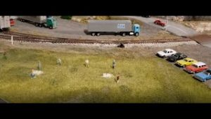 MODEL TRAINS: WHY ARE THERE HORSESHOE PLAYERS ON MY TRAIN LAYOUT?