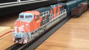 Model Railways 33 – Australian model trains – BHP Billiton AC6000 class 6070 DCC sound