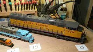 Comparing Model Railroad Gauges Z, N, HO and O