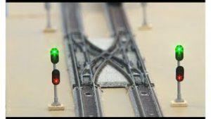 TS5 dual-track model railroad signal control circuit