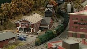 Model Train Layout Design on The New England Berkshire & Western