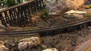 Model Railroad Adventures with Bill E90 – Model Railroad N Scale Low Bridge and Scenery Part 2