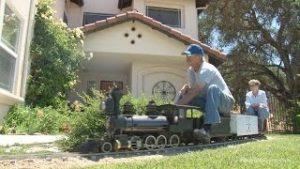 The amazing backyard railroad of Jim Sabin – full HD program