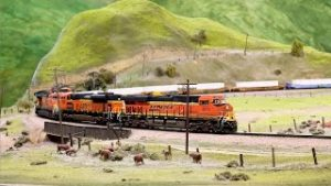 Beautiful HO Scale Train Layout by The San Diego Model Railroad Museum – THE TEHACHAPI PASS