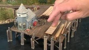 Making Removable Model Railroad Structures