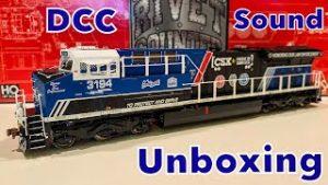 Scaletrains HO Scale CSX 3194 Law Enforcement GEVO Unboxing Review!