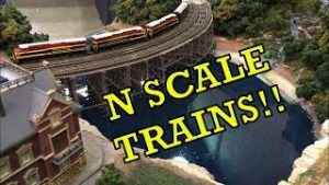AWESOME N SCALE TRAINS AT THE MODEL TRAIN SHOW 2019!