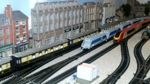 The New Model Railway Room Part 8 & The Trains Are Running.